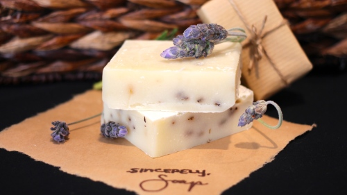 Organic Lavender Soothing and Calming Bar Soap