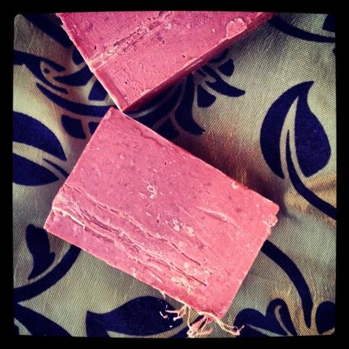 Organic Moroccan Clay and Loofa Bar Soap